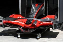 McLaren Mercedes, MP4-22, front wing