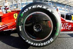 Scuderia Ferrari, front wheel disc
