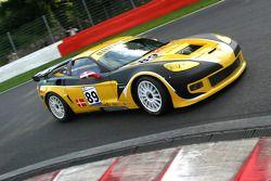 #89 de l'équipe Markland Racing Corvette C6 Z06: Kurt Thiim, Thorkild Thyrring