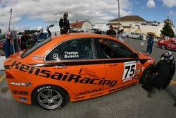 Pitstop for #75 Kensai Racing Acura TSX: Benoit Theetge, Beau Buisson