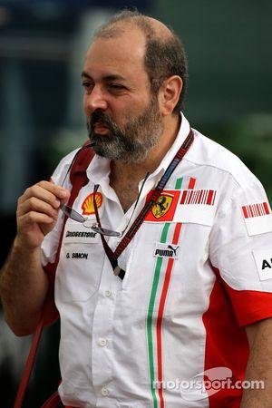 Жиль Симон, Scuderia Ferrari, глава отдела моторов