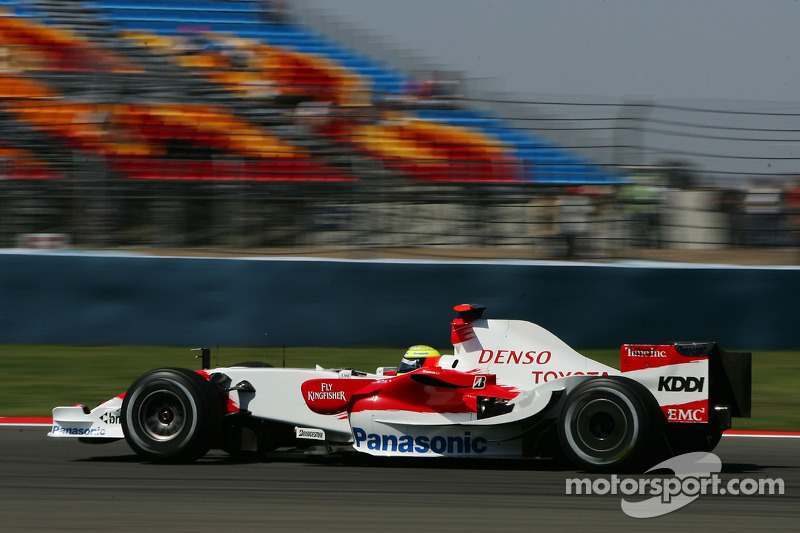 #11: Ralf Schumacher, Toyota Racing, TF107