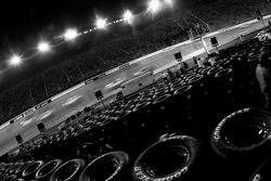 Night racing at Bristol Motor Speedway for the running of the NASCAR Busch Series Food City 250