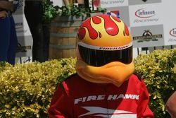 Victory Lane: la mascotte Firestone