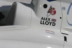 Victory Lane: détail de la voiture d'Alex Lloyd