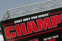 Signalisation championnat Indy Pro Series