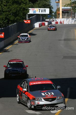 #142 Davis Motorsports Acura TSX: Anthony Serra, Marcelo Abello, Hugh Plumb