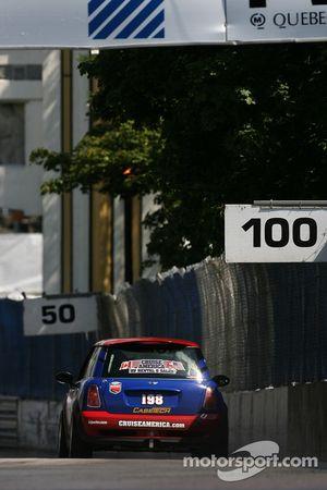 #198 RSR Motorsports Mini Cooper S: Randy Smalley, Owen Trinkler, Alain Lauzière, Simon Dion-Viens