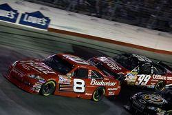 Dale Earnhardt Jr. leads Carl Edwards