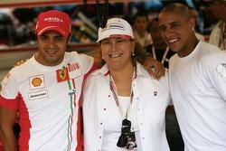 Felipe Massa, Scuderia Ferrari and Roberto Carlos, Fenerbahce football player