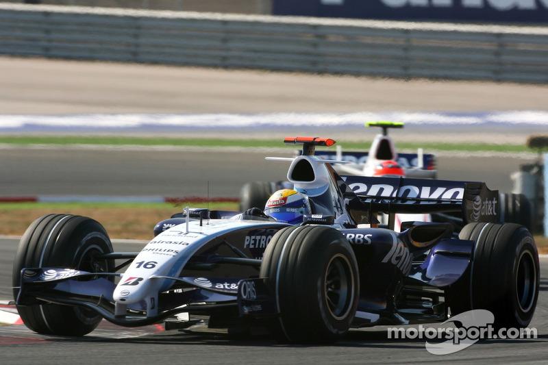 Williams, 2007: 20 pontos, 9º no campeonato