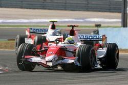 Ralf Schumacher, Toyota Racing, TF107, Jarno Trulli, Toyota Racing, TF107
