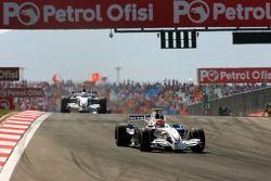 Robert Kubica, BMW Sauber F1 Team, F1.07, Nick Heidfeld, BMW Sauber F1 Team, F1.07