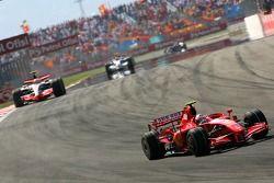 Kimi Raikkonen, Scuderia Ferrari, F2007, Lewis Hamilton, McLaren Mercedes, MP4-22
