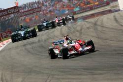 Ralf Schumacher, Toyota Racing, TF107, Rubens Barrichello, Honda Racing F1 Team, RA107