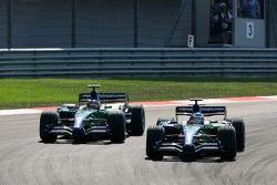 Jenson Button, Honda Racing F1 Team, RA107, Rubens Barrichello, Honda Racing F1 Team, RA107