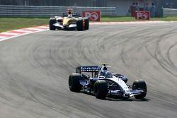 Alexander Wurz, Williams F1 Team, FW29, Giancarlo Fisichella, Renault F1 Team, R27
