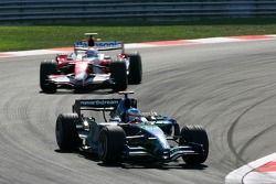 Jenson Button, Honda Racing F1 Team, RA107, Jarno Trulli, Toyota Racing, TF107