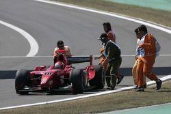 Henri Karjalainen retires from the race