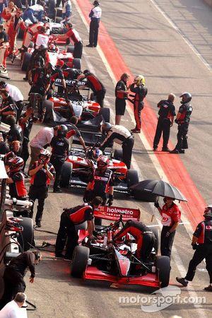 Une nouvelle figure de l'équipe Minardi: Mario Dominguez