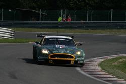 Les Combes: #51 Amr Larbre Competition Aston Martin DBR9: Gregor Fisken, Steve Zacchia, Gregory Franchi