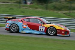 Fagnes: #98 ICE POL Racing Team Ferrari F430 GT: Yves Lambert, Christian Lefort, Stéphane Lemeret