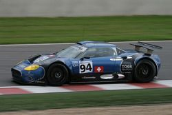 Stavelot: #94 Speedy Racing Team Spyker C8 Spyder GT2R: Andrea Belicchi, Andrea Chiesa, Jonny Kane