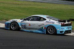 Arrêt de Bus: #78 Scuderia Villorba Corse Ferrari F430 GT: Alex Caffi, Denny Zardo