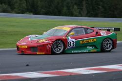 Bus stop: #83 GPC SPORT Ferrari F430 GT: Gabrio Rosa, Luca Drudi, Johnny Mowlem