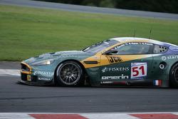 Arrêt de Bus: #51 Amr Larbre Competition Aston Martin DBR9: Gregor Fisken, Steve Zacchia, Gregory Franchi