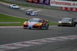 Eau Rouge: #98 ICE POL Racing Team Ferrari F430 GT: Yves Lambert, Christian Lefort, Stéphane Lemeret