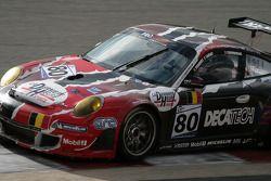 Eau Rouge: #80 Prospeed Competition Porsche 997 GT3 RSR: Rudi Penders, Franz Lamot