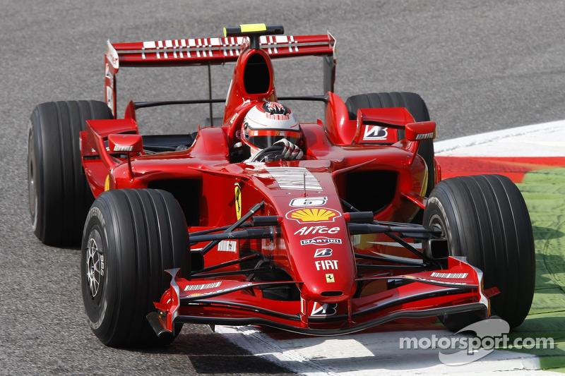 #6 : Kimi Räikkönen, Ferrari F2007