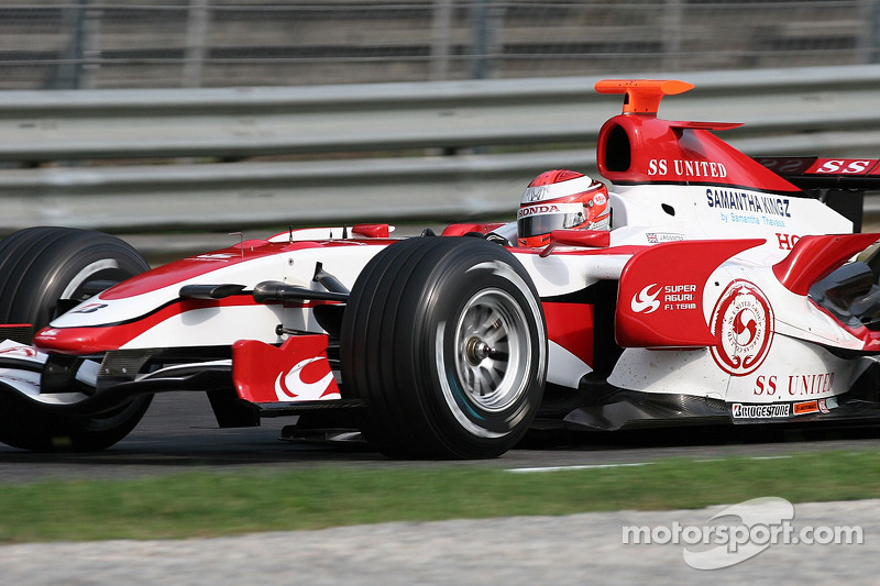 James Rossiter, Super Aguri F1 Team, SA07