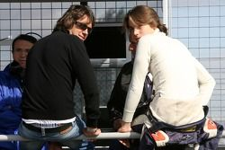 Enrico Toccacelo, pilote de A1 Equipe d'Italie, Paolo Bossini, pilote de A1 Equipe d'Italie