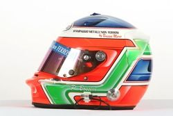 Casque de Paolo Bossini, pilote de A1 Equipe d'Italie