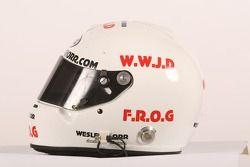 Casque de Wesleigh Orr, pilote de A1 Equipe de l'Afrique du Sud