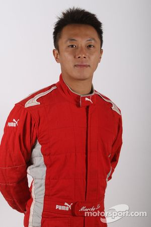Marchy Lee Ying-Kin, driver of A1 Team China