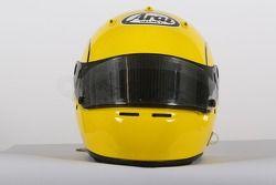 Ralph Firman, driver of A1 Team Ireland, helmet