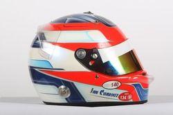 Jan Charouz, driver of A1 Team Czech Republic, helmet