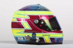Casque de Oliver Jarvis, pilote de A1 Equipe de Grande Bretagne