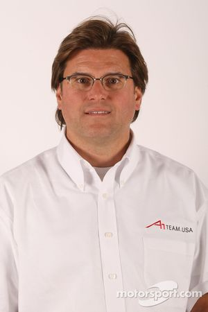 Rick Weidinger, A1 Team USA seat holder