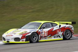 #31 Petersen White Lightning Ferrari 430 GT: Michael Petersen, Dirk Muller, Peter Dumbreck