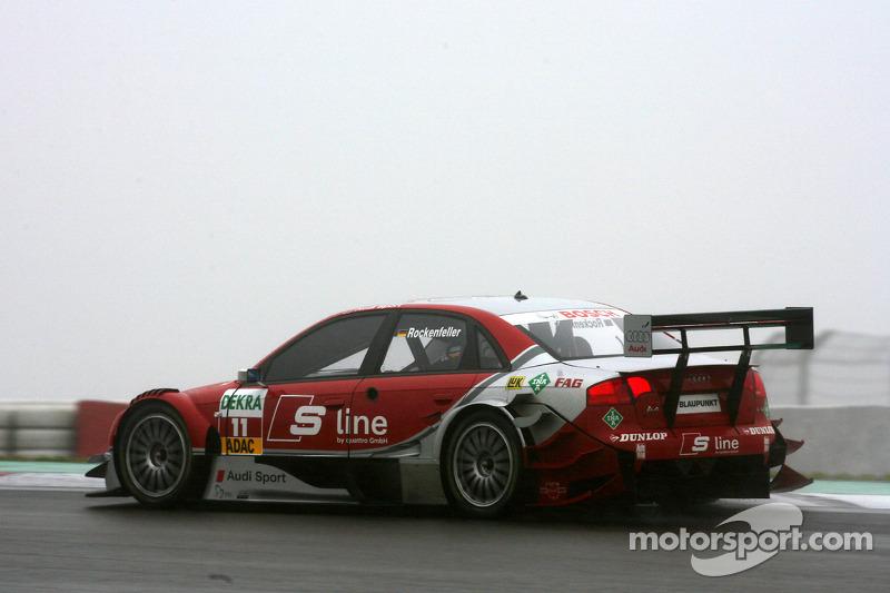 #11: Mike Rockenfeller, Audi, A4 DTM 2006