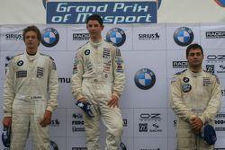 Le podium: Robert Thorne, Alexander Rossi, Yannick Hofman