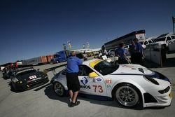 Tafel Racing Porsche 911 GT3 RSR au contrôle technique
