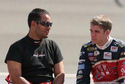 Juan Pablo Montoya et David Ragan