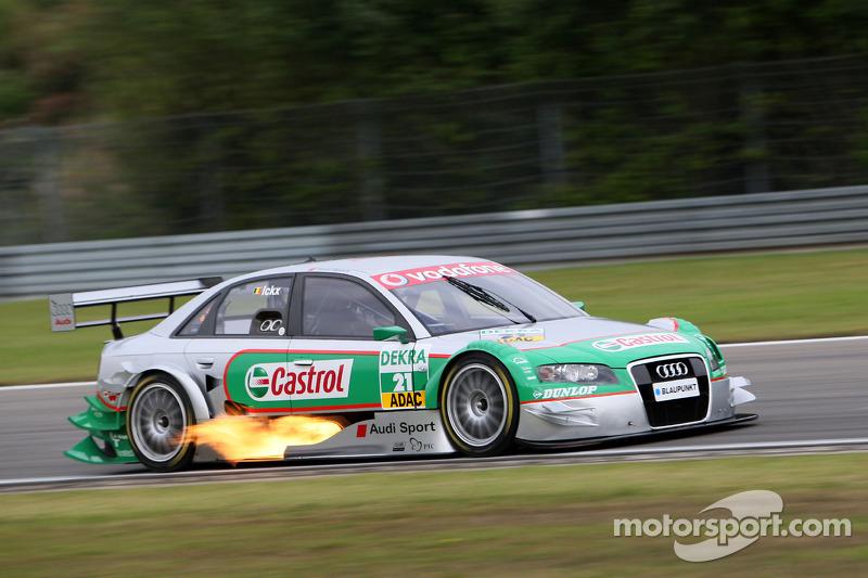 #21: Vanina Ickx, Audi, A4 DTM 2005