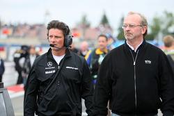 Axel Randolph, race engineer of Mika Häkkinen and Didier Coton, manager of Mika Häkkinen