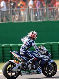 Fourth place Marco Melandri
